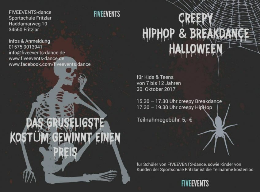 Creepy HipHop & Breakdance Halloween 2017